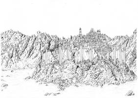 Gondolin in Ruins by MatejCadil