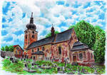 Church of St Anne in Stare Buky by MatejCadil