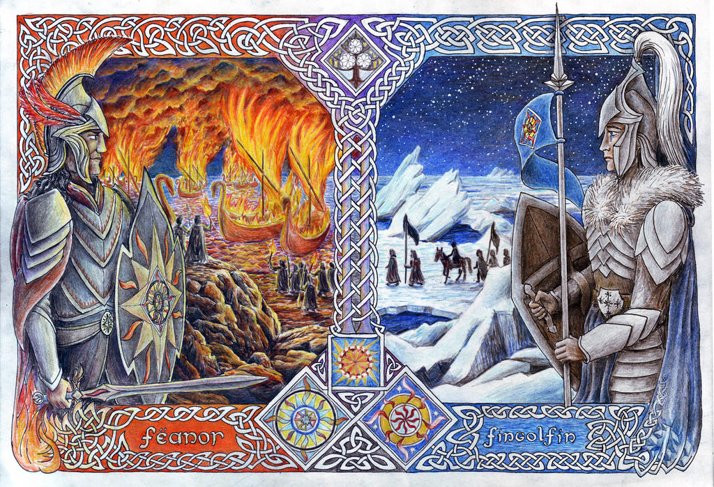 Brothers - Fire and Ice by neral85