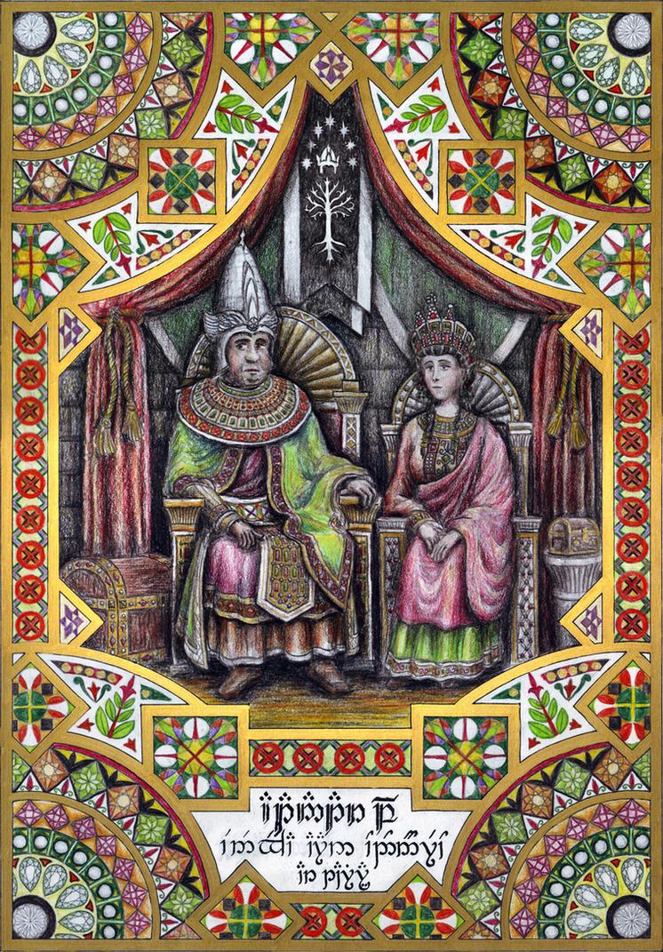 Atanatar II Alcarin of Gondor by neral85