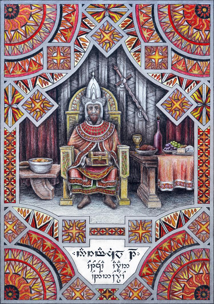 Narmacil I of Gondor by neral85