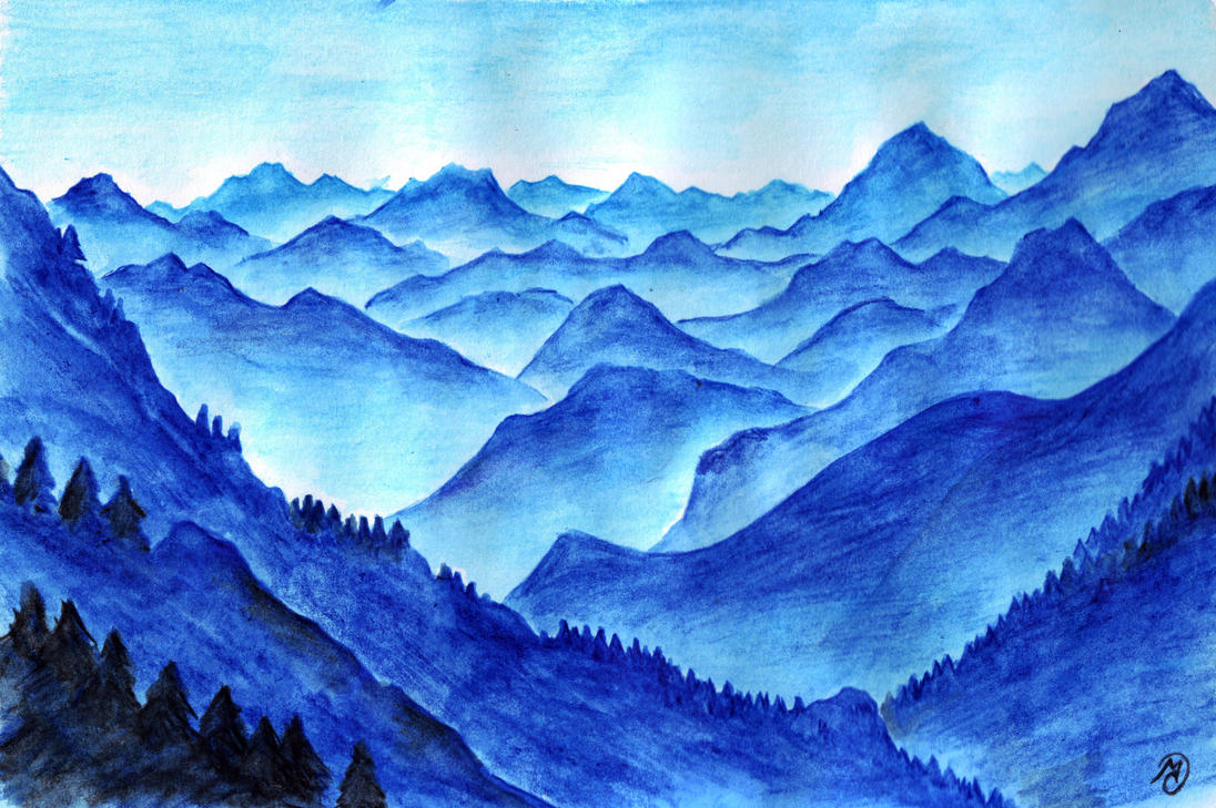 Blue Mountains by neral85