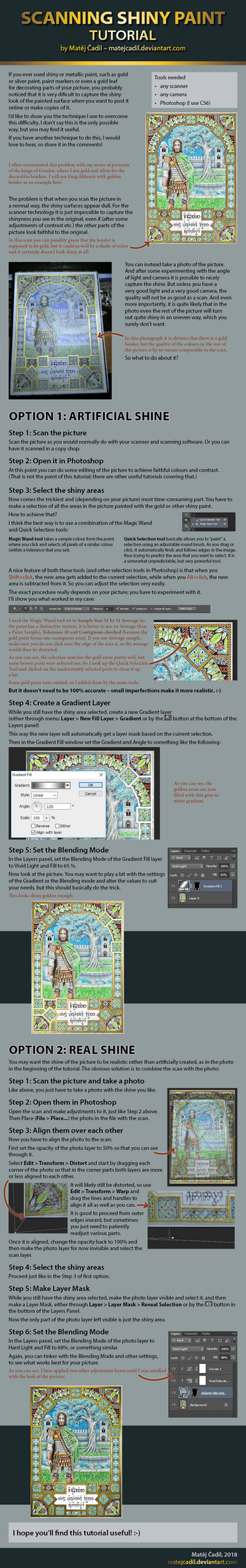 Tutorial - Scanning Shiny Paint by MatejCadil