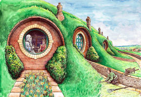 In the Garden of Bag End