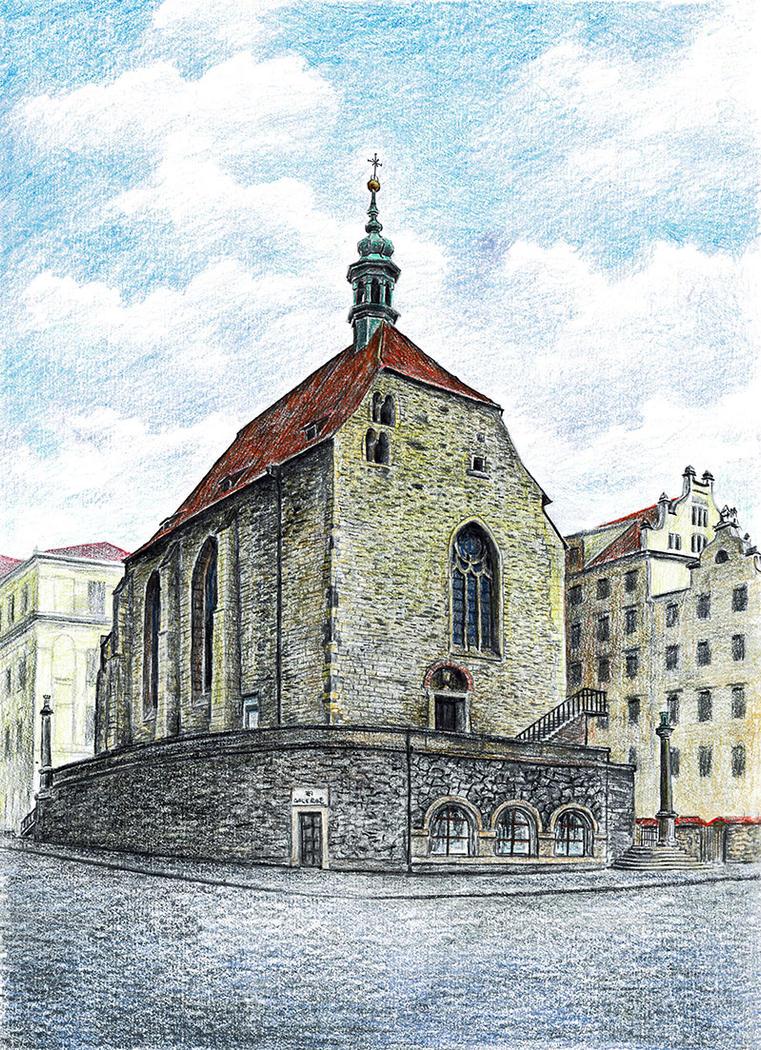 Church of Saint Wenceslas in Zderaz by MatejCadil