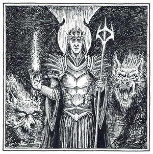 Gorthaur the Cruel (Inktober Day 11)