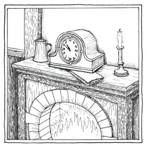 Bilbo's Mantelpiece Clock (Inktober Day 14)