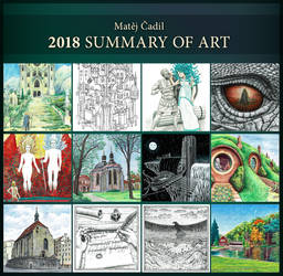 Art Summary 2018 by MatejCadil