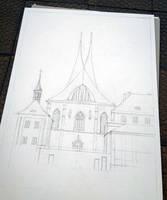 The Emmaus Church in Prague - WIP