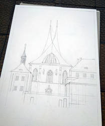 The Emmaus Church in Prague - WIP