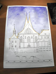The Emmaus Church in Prague - WIP 2