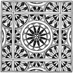 Numenorean Tile (Inktober Day 10)