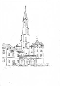 Church of Saint Catherine in Prague - WIP