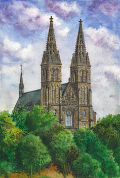 Basilica of St Peter and Paul in Vysehrad