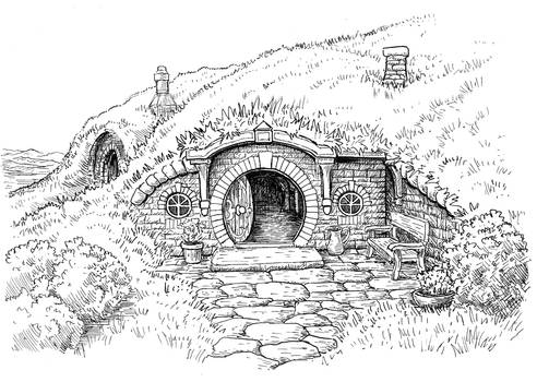 Bag End Door