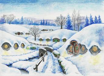 Needlehole in Winter