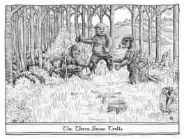 The Three Stone Trolls