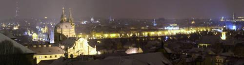Prague Panorama by MatejCadil