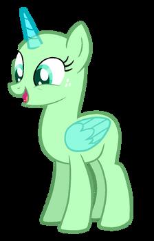 mare base - happy/surprised
