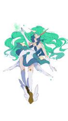 [ SpeedPaint ] Star Guardian Soraka by Saiphh