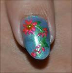 Nail Art - Summer Flowers