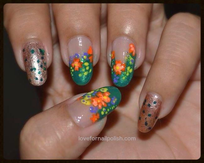 Spring Flower Nail Design by Gorgeousnails