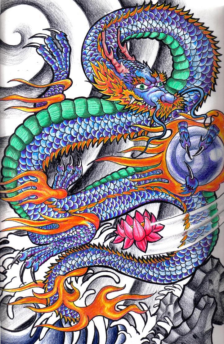 Japanese Dragon by Johnny2Fingers on DeviantArt