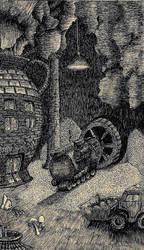 The Mechanized Underground--Steampunk:Eternal Unde