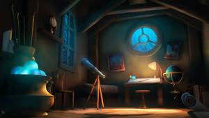 Astrologer's Room by MartinKlekner