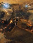 Armies of the Fallen - Temple Assault by MartinKlekner