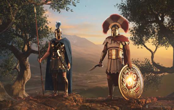 Heroes of Bronze - Athens v Sparta