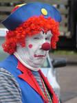 he is scary  clown