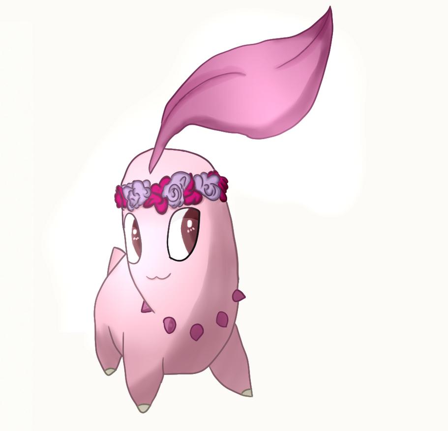 Pink Chikorita by Torriccelli