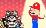 Wario calls Mario