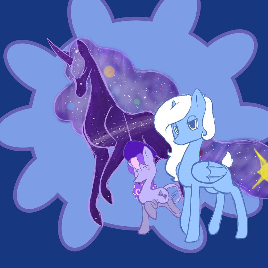 Ponis sketch by snowrabbit22