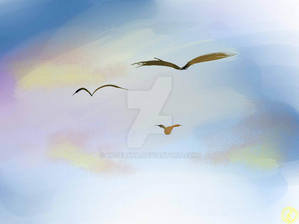 Flight by Roselyna