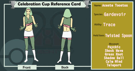 Aceste's Reference Card
