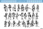 WALT - thumbnails sheet by antonyhuynh