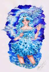 Michiru-Neptune by MoonSelena