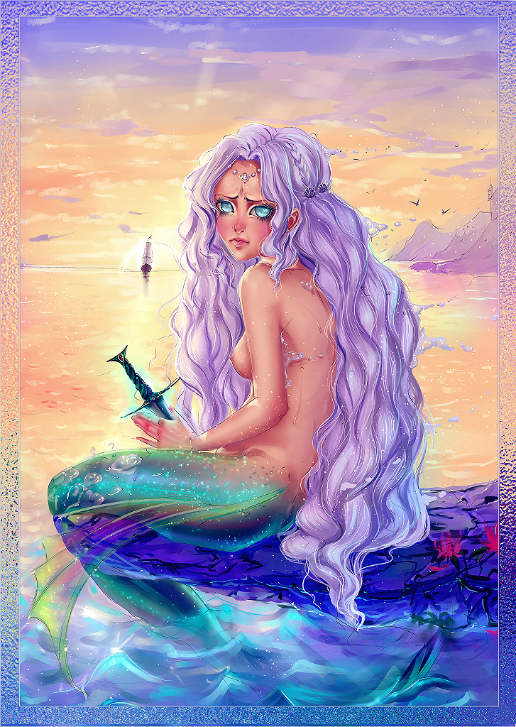 Mermaid by MoonSelena
