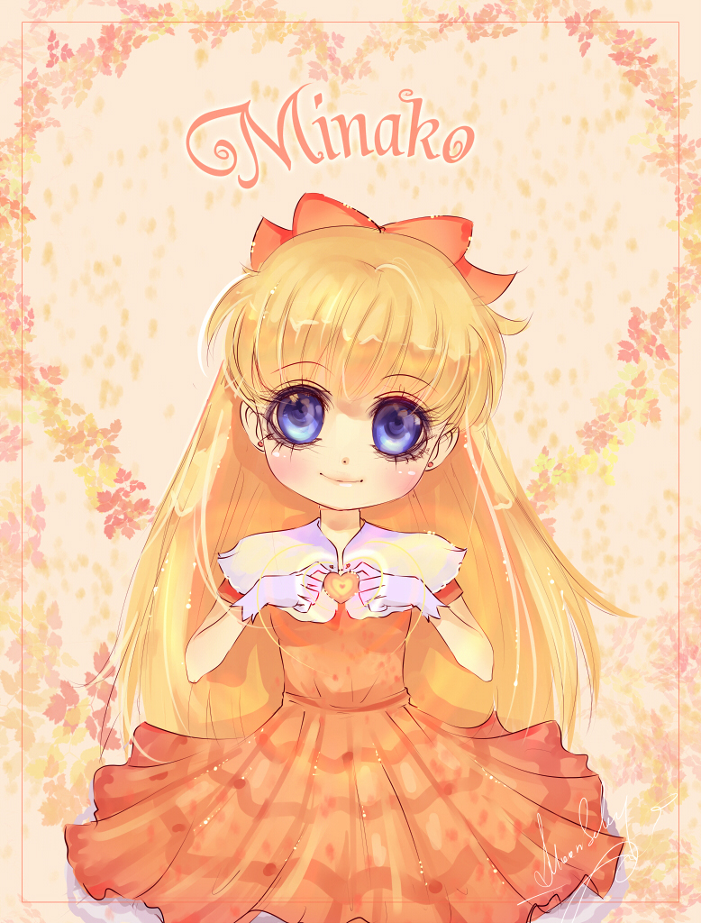 Minako gives all love. by MoonSelena