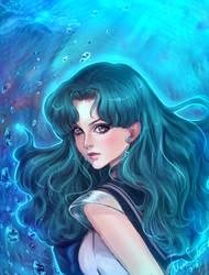 Sailor Neptune by MoonSelena