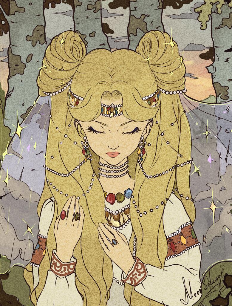 Princess Serena-Usagi by MoonSelena