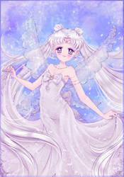 Queen Serenity. by MoonSelena