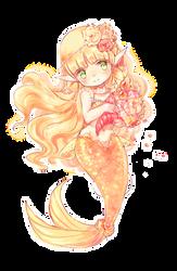 Mermaid flowers.