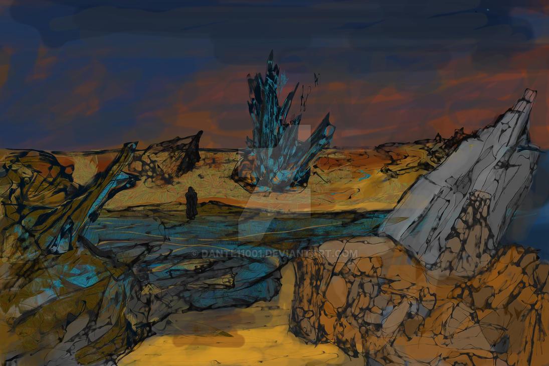 The Wanderer's Journey by dante11001