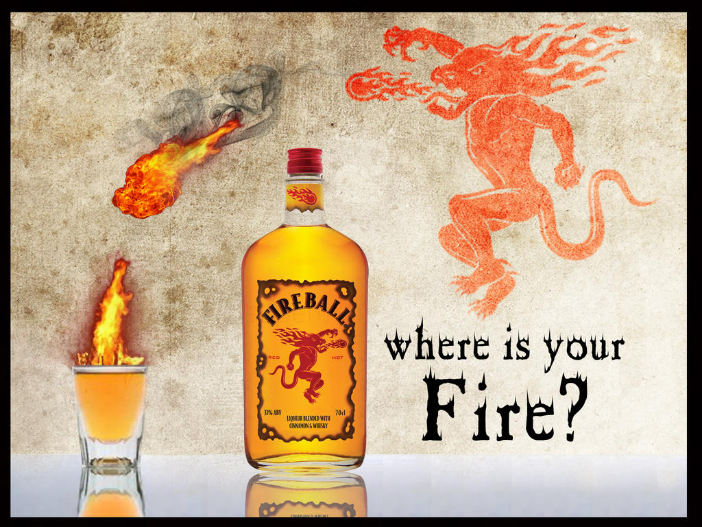 "BAR ""PHOMET"" - Página 2 Fireball_whiskey_ad_by_synergy14-d68d192"