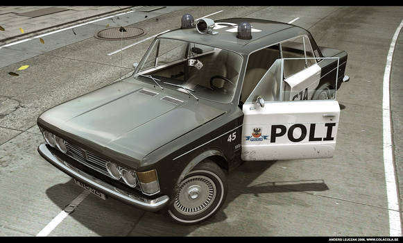 70s Police car by bazze