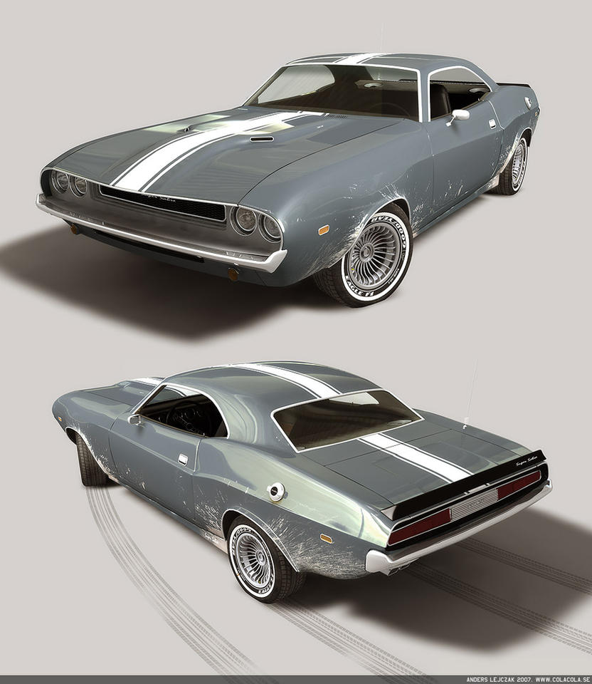 Muscle Car By Bazze On Deviantart
