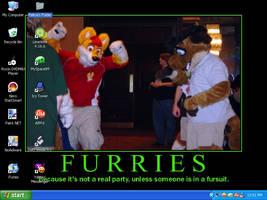 Furries Desktop by gorillazlovelife07